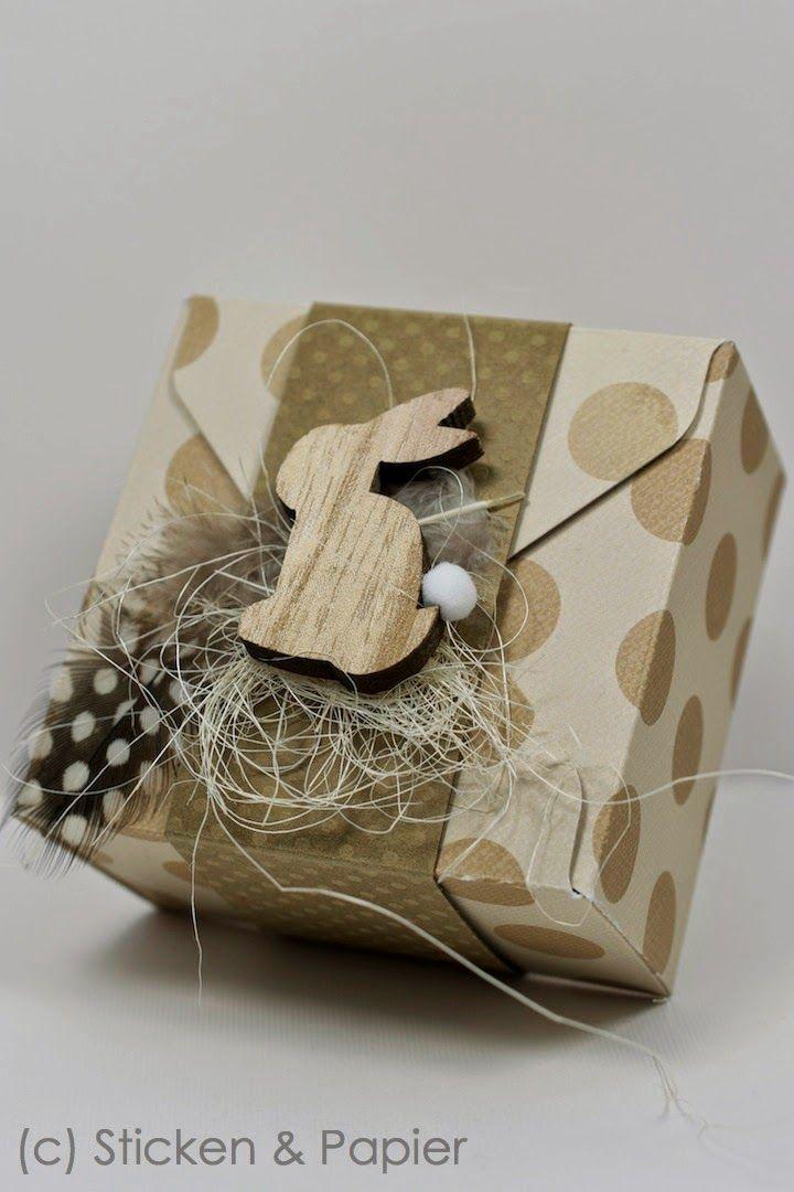 Sticken & Papier: im Schachtel-Fieber