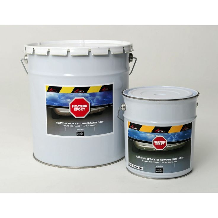 Résine epoxy transparente pour sol est un primaire et fixateur pour les supports friables et poussiéreux S'applique comme une peinture - Liant très résistant pour moulage ou inclusion
