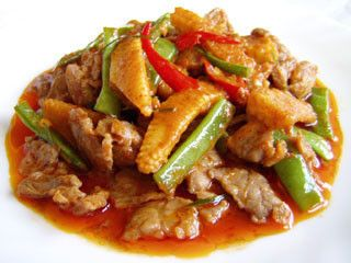 Main, TM37, Pork Pa Nang Curry, Thai