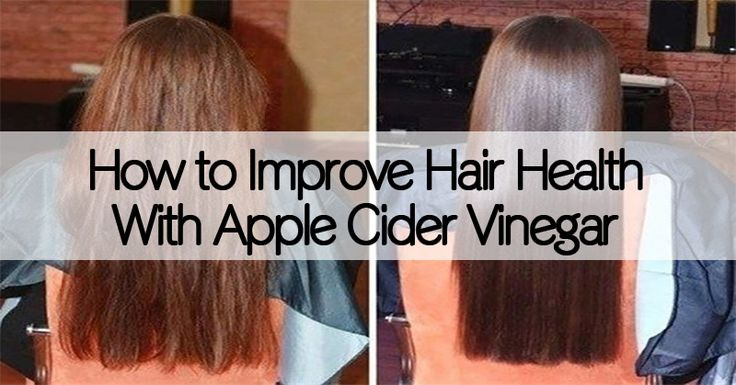 Did you know that using apple cider vinegar can significantly improve hair health?