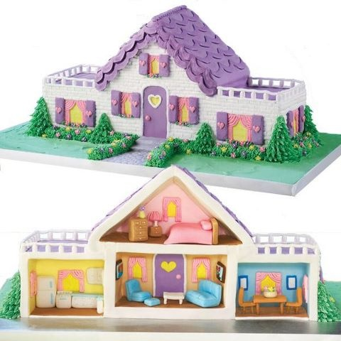 Doll House Cake Images : 40 best Cake-thatched cottage images on Pinterest