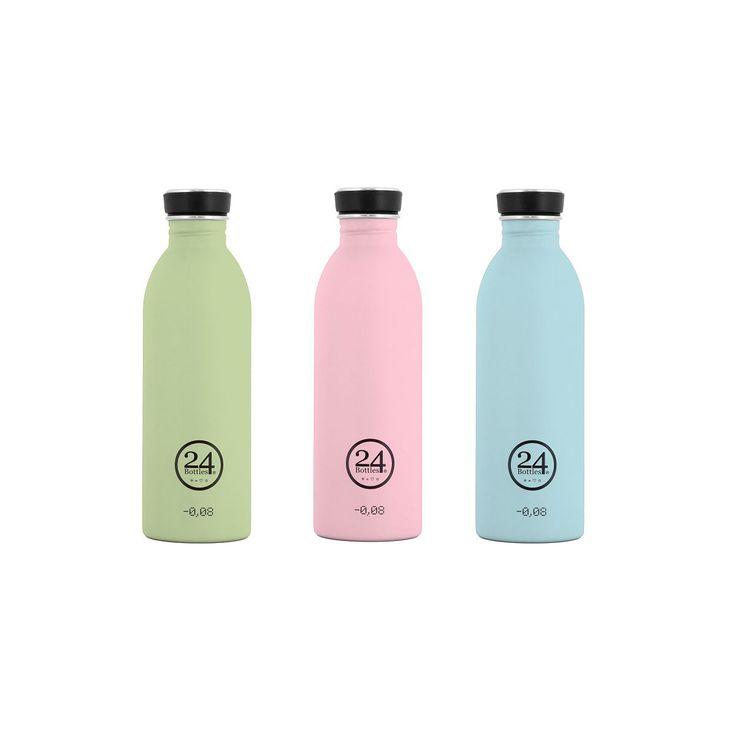 "24Bottles - Trinkflasche ""Urban Bottle - Washed Out"" aus Edelstahl 500 ML | 19,90 EUR"