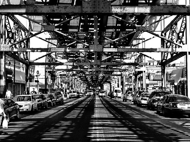 Roosevelt Avenue in Woodside, Queens, New York by NYC♥NYC, via Flickr