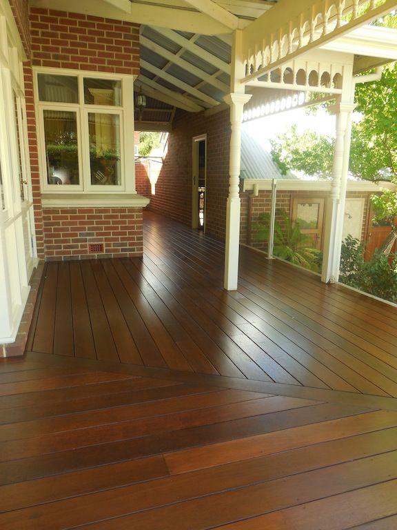 Timber veranda by Castlegate Home Improvements Perth