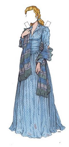 009 Scarlett Reverie Gone with the Wind Paper Dolls of Maria