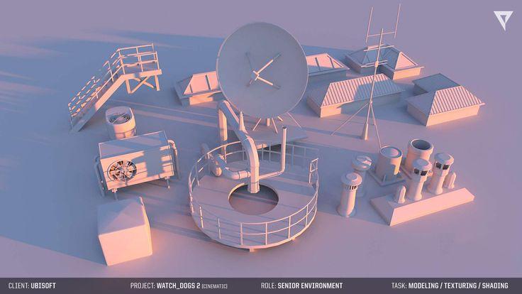 ArtStation - Ubisoft WATCH_DOGS 2 - CINEMATIC WIP, Miguel Fonseca