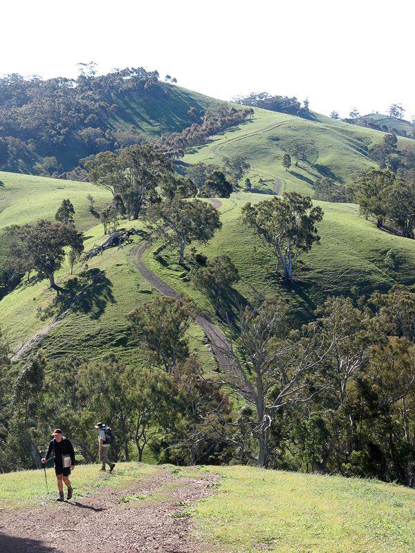 Heysen Trail in Mount Remarkable National Park, South Australia