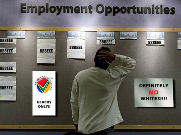 Affirmative action programs require employers that demonstrate they are actively employing minority groups.