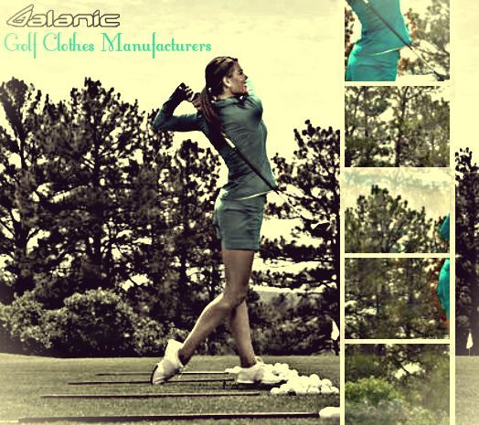 golf clothing manufacturers