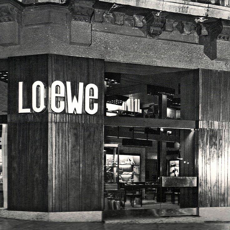 A Modern Legacy: #LOEWE Boutique Bilbao, architect: Javier Carvajal, 1960. #PastPresentFuture #LoeweJWA