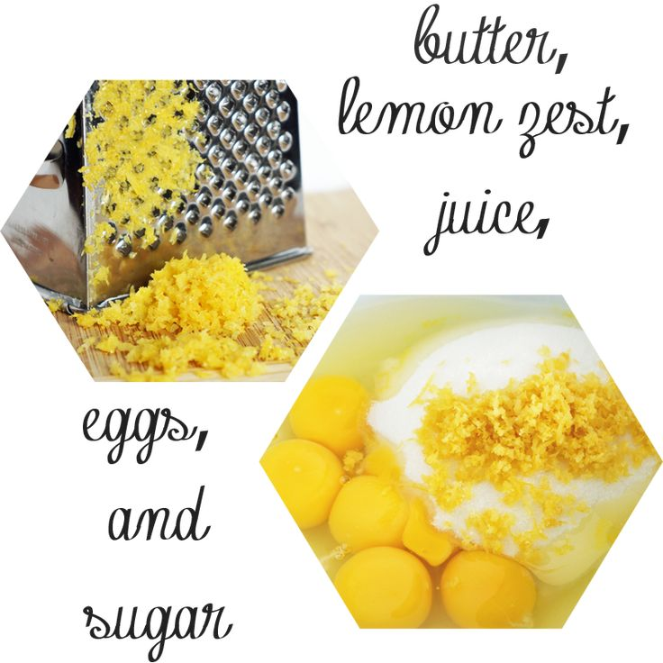 lemon curd from butter lemons eggs and sugar