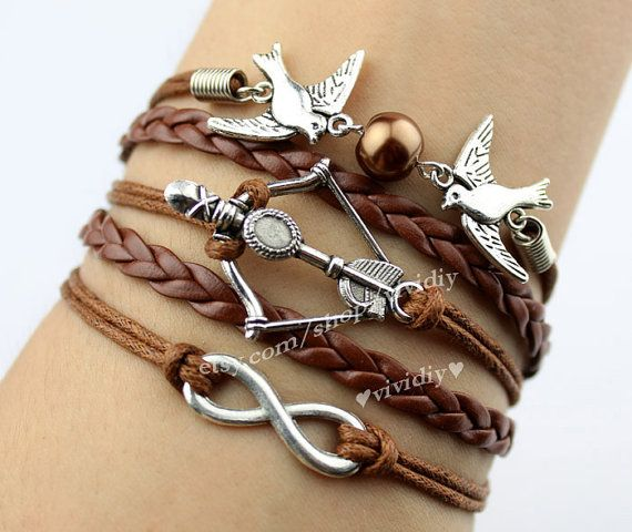 brown bracelet wholesale for leather gold color vintage men plated accessories item cool brass unique antique boy jewelry