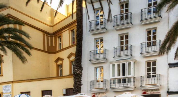 HOTEL スペイン・カディスのホテル>カディス大聖堂の隣に位置しています>ホテル ラ カテドラル(Hotel La Catedral)