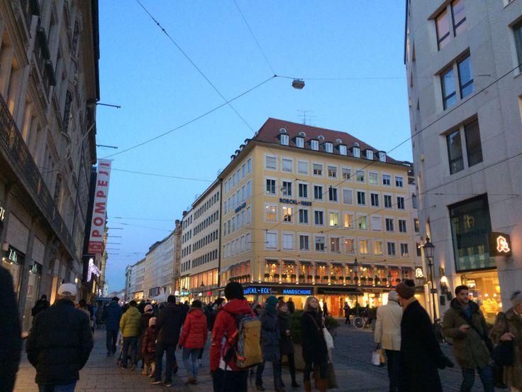 My final day in Munich. What a beauty.