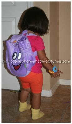 Dora Halloween Costume for S.G.