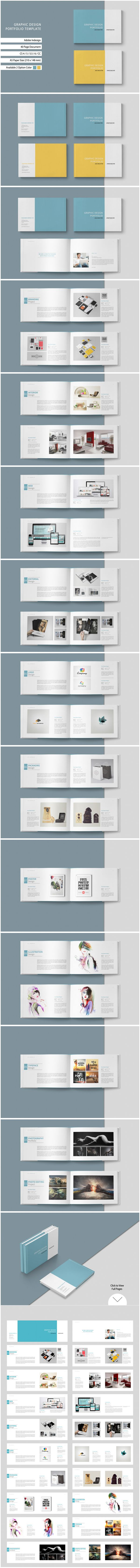 This is 40 page minimal brochure template is for designers working on…