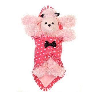 Pink Poodle Blanket Babies by Fiesta Toy