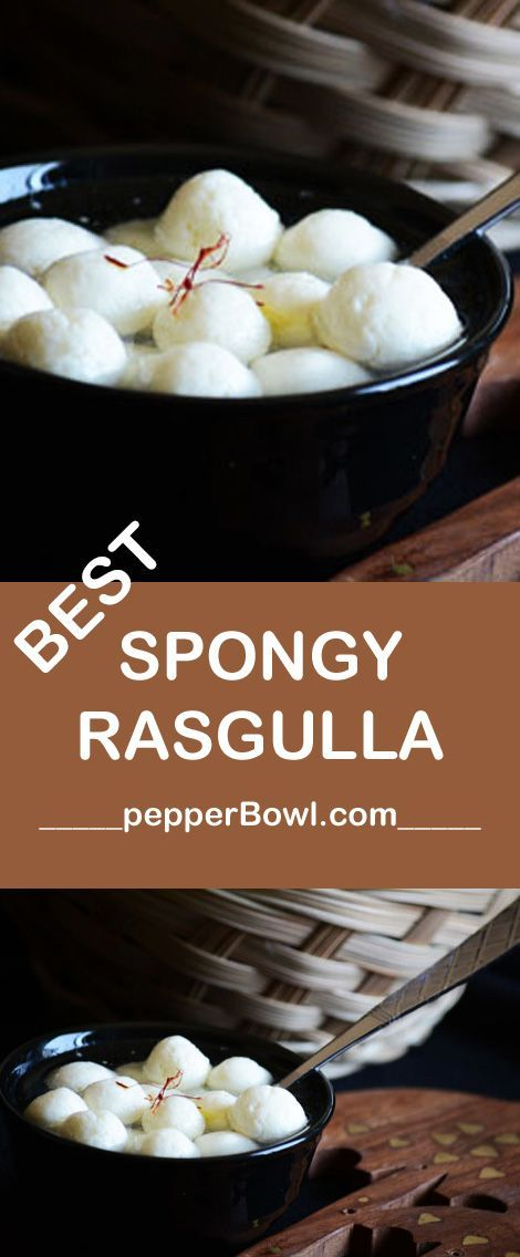 Bengali Rasgulla Recipe is made easy. Will anyone believe me made with just 2 ingredients? with step by step pictures | http://pepperbowl.com via /pepperbowl/