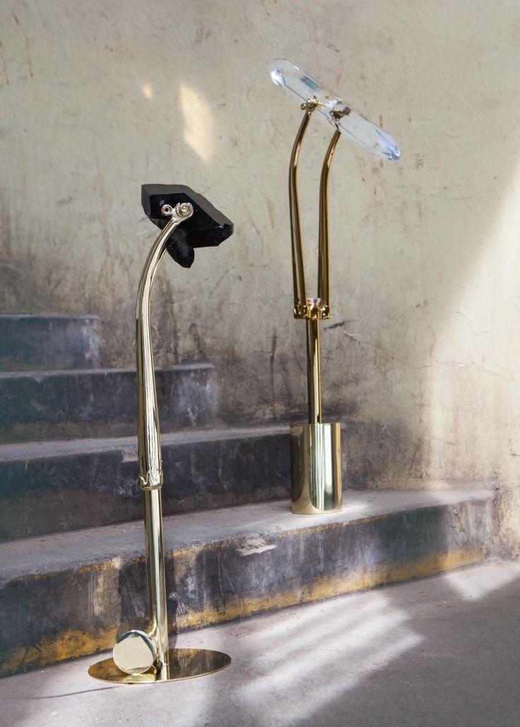 #DearMarcel #Duchamp #lukashoudek #lightobject #czechart #contemporarydesign #gold #kineticobject #glass