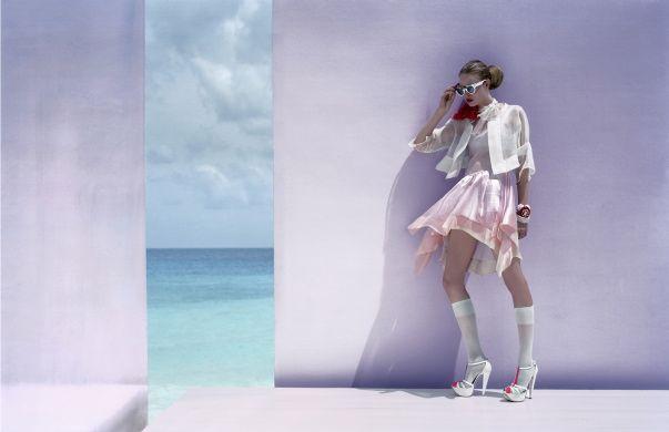 Javier Vallhonrat - Photos - VOGUE UK - Light and fantastic | Michele Filomeno
