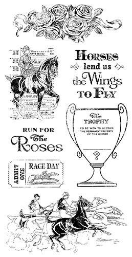 Off to the Races Stamp 2