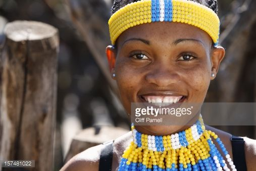 Zulu woman portrait