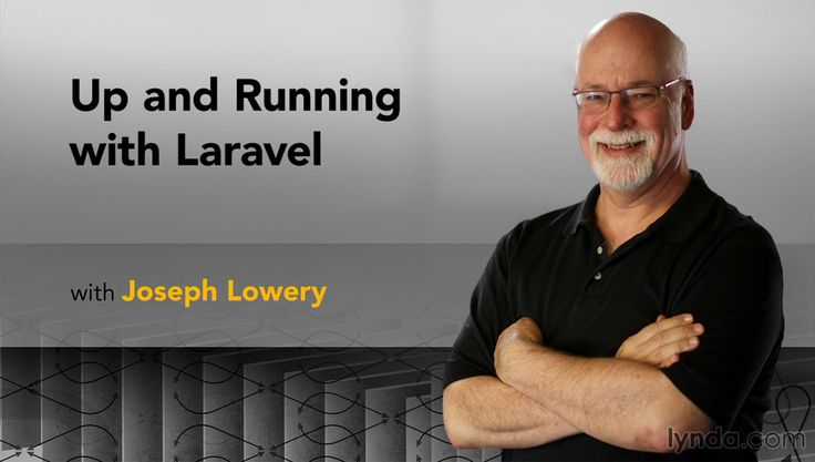 Up and Running with #Laravel - Joseph Lowery - What is Laravel? It's a popular PHP framework. It offers all of the standard #MVC capabilities and provides features targeted specifically at designers. In this course, Joseph Lowery shows you how to install Laravel and Composer and start creating pages with Laravel's powerful syntax and flexible HTML views. He'll also show how to use the Blade templating system. Last, you'll check your app and see how Laravel code holds up in testing.