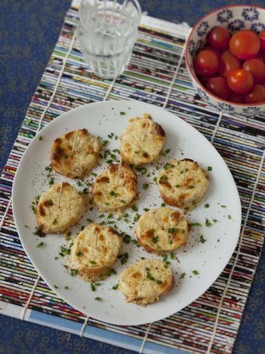 Recette de Tartines grillés à la moutarde et au gruyère
