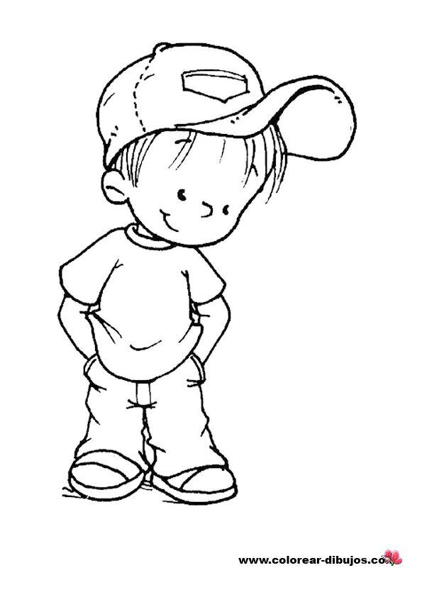 Un Niño Con Fruta Solidario Para Colorear - Saferbrowser Yahoo Image ...