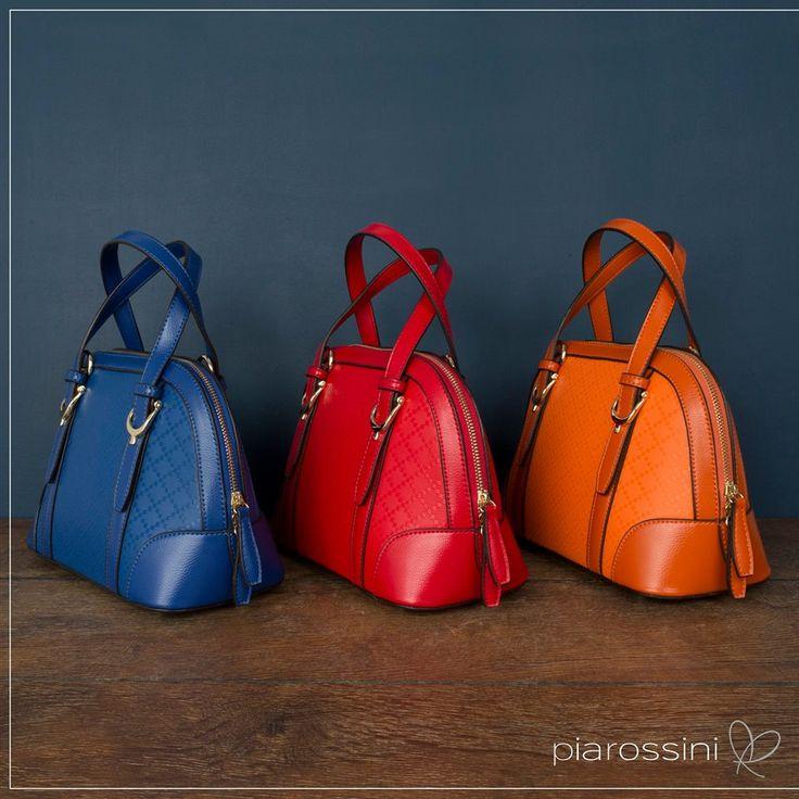 Coloured Handbags Pia Rossini mini bags