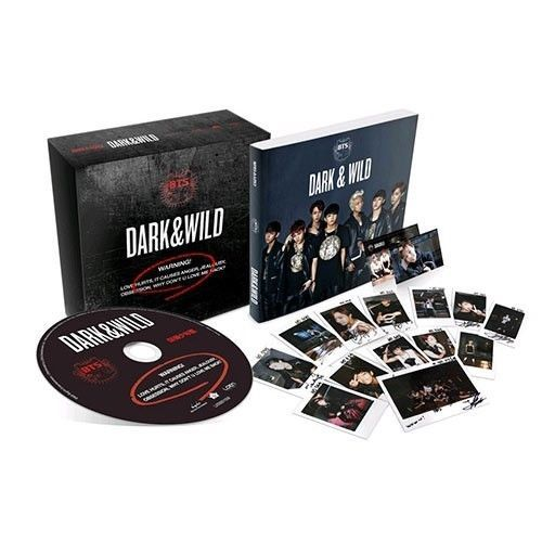 BTS BangTan Boys New Dark & Wild Vol 1 Mini Album CD K-Pop Photo Card & Book    #Disco