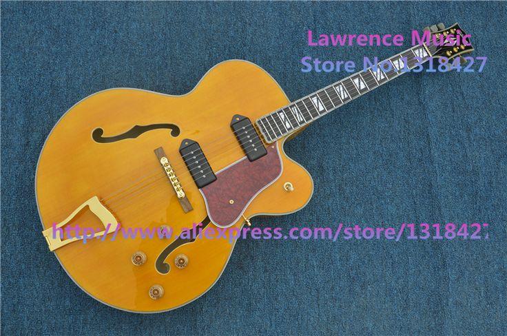 Barato E G L5 guitarra Jazz corpo oco guitarra elétrica, Compro Qualidade Guitarras diretamente de fornecedores da China:             Mais imagem                                                &