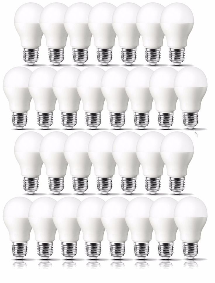 Led Daylight Bulb: LED Light Bulbs Lot Of 30 With FREE Delivery 60 Watt