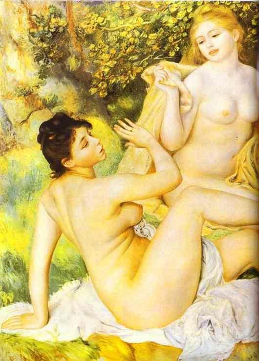 * Pierre-Auguste Renoir - - - The Bathers