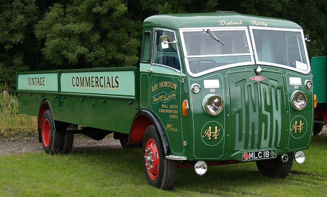 Another view of Ray Horton's JNSN lorry at the Black Country Living Museum.