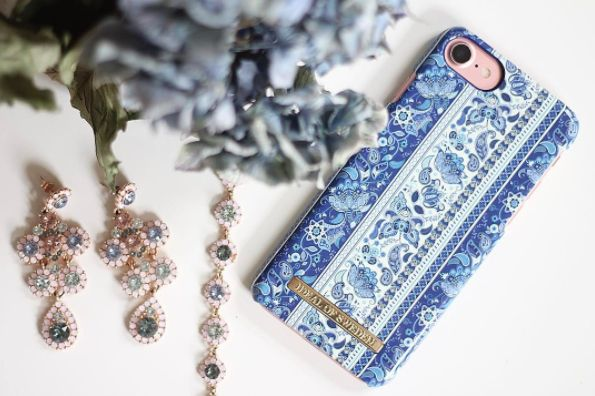 Boho by lovely @rebeccadufwall - Fashion case phone cases iphone inspiration iDeal of Sweden #Bohemic #blue  #fashion #inspo #iphone