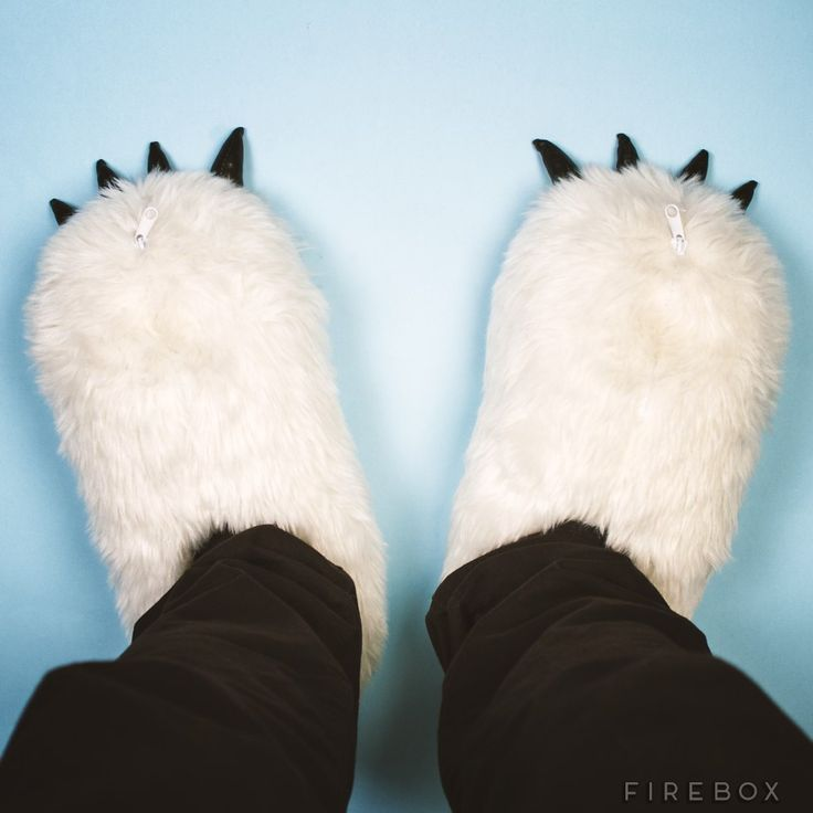 Yeti Heated Slippers | Firebox - Shop for the Unusual
