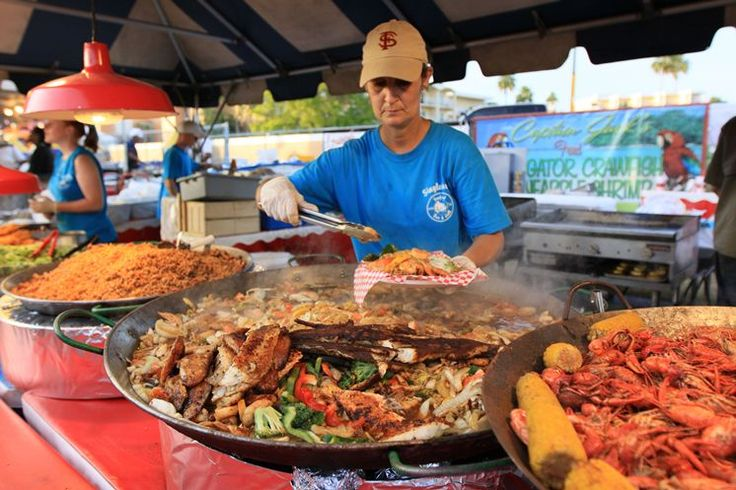 Safety Harbor Seafood Festival is here | Things to do in Tampa Bay | Tampa Bay Times