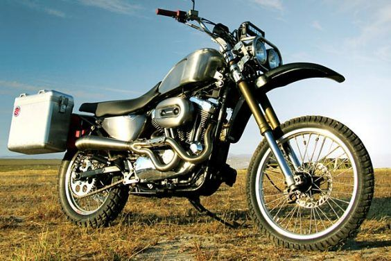 HOG WILD. Gasser Customs Takes A Harley Sportster 1200 Camping