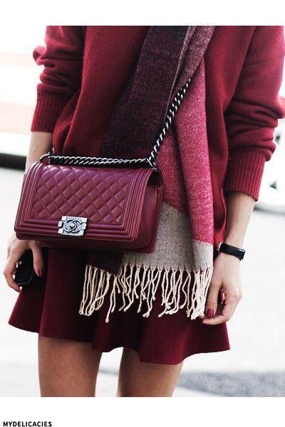 AW's It Colour: Burgundy