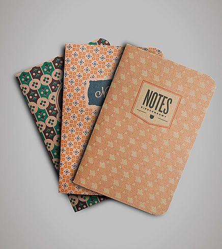 oldschool notebooks designed by Łukasz Zbieranowski  #design #poland #polska