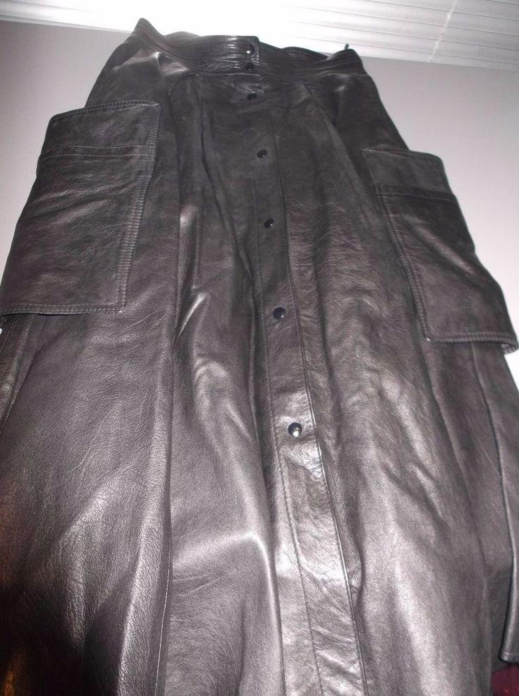 Blacky dress damen lederrock leder rock vintage taschen for Rockabilly outfit damen
