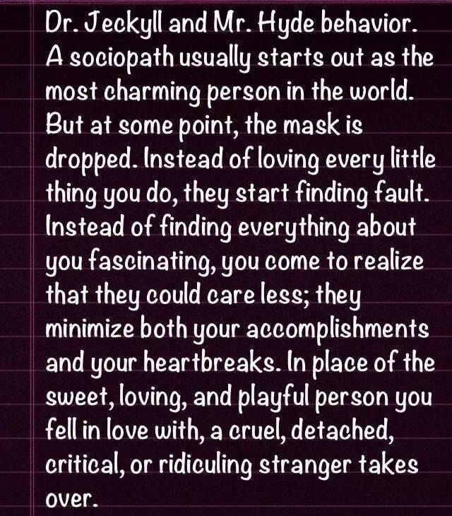 relationship with a psychopath Q&a with jackson mackenzie, author of psychopath free  through therapy, i  learned about sociopaths and their relationship cycle of.
