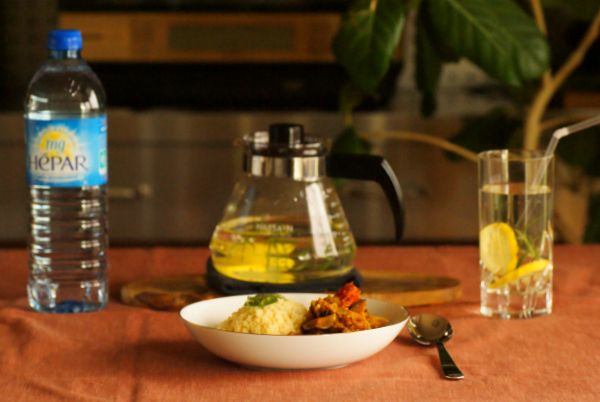 「レモンもローズマリーも沢山あるので、最近のデトックスウォーターは毎日同じの。 さっぱりしていてスパイス料理にもよく合いますね^^」by.ハグさま #エパー #硬水 #hepar