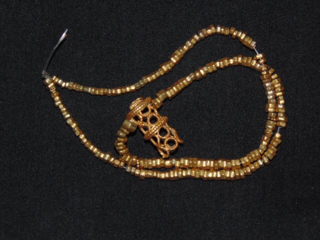 old gold necklaces from java (majapahit)