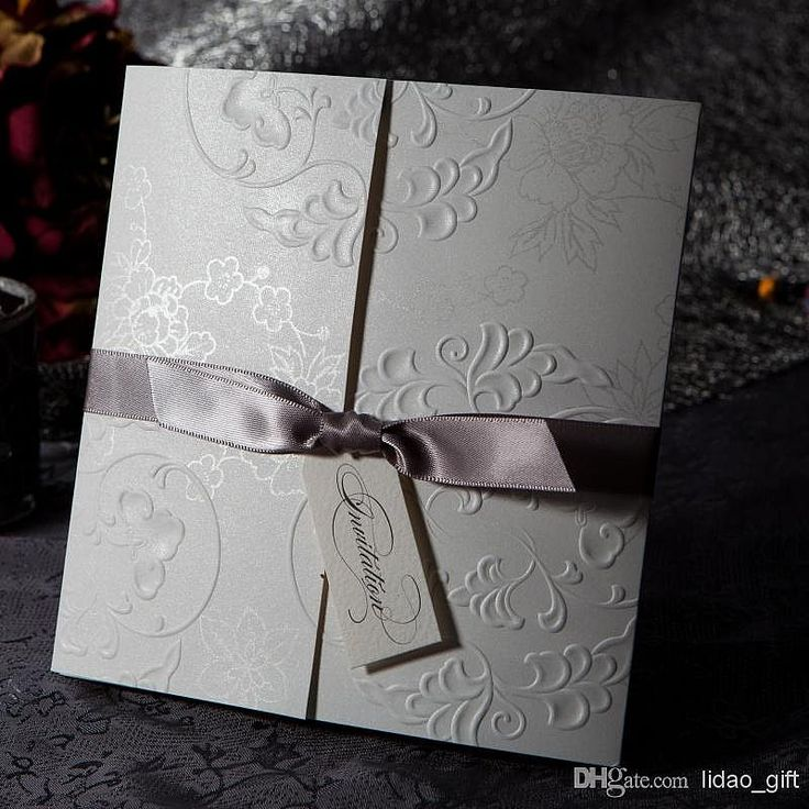wedding card invitation cards online%0A Cheap invitations sale  Buy Quality invitation card box directly from China invitation  cards wedding Suppliers       New Elegant Embossed Personalized