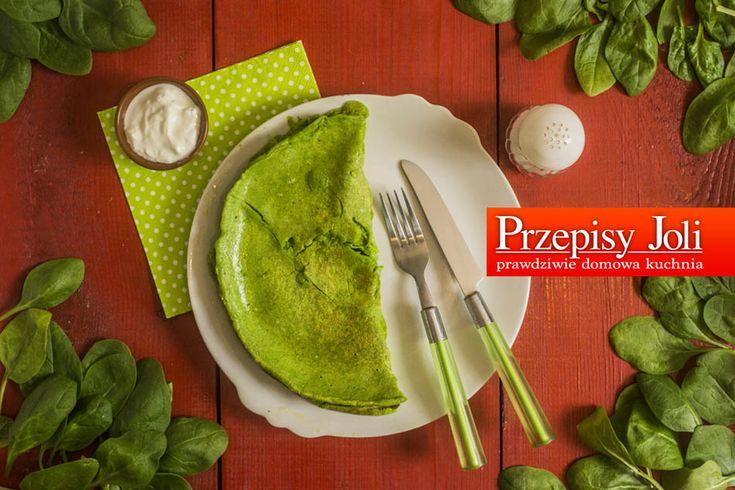 PLACEK ZE SZPINAKIEM I FETĄ - łatwy i szybki sposób na pyszny, zdrowy posiłek. Placek można podać zarówno na śniadanie, obiad czy kolację.