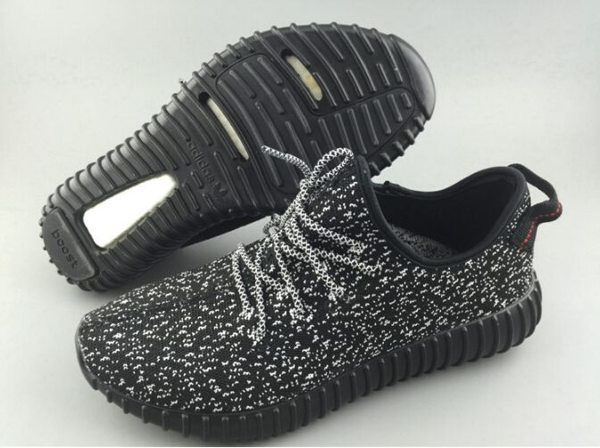 Adidas Yeezy Boost Black White