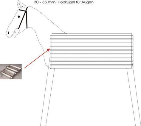 Holzpferd – Bauanleitung für Heimwerker – 1-2-do.com – Ihr Heimwerker …
