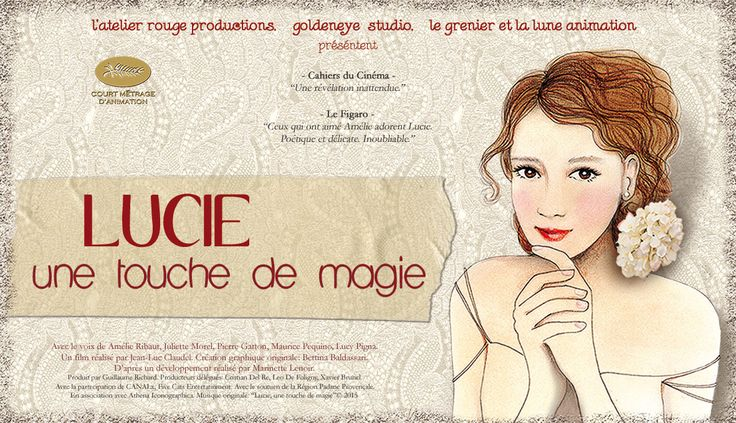 #BettinaBaldassari Lucie, une touche de magie